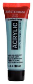 Amsterdam  Standard  Hemelsblauw Licht 551  20 ml