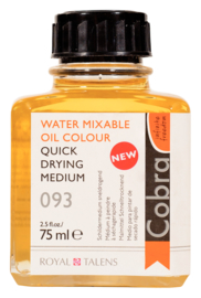 Cobra Schildermedium Sneldrogend 093 Fles 75 ml