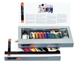 Cobra Artist Geschenkset  10x40 ml en accessoires