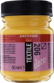 Amsterdam Textielverf Fles 50 ml Provencegeel 206