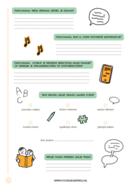 Inventarisatiekaart 1 - Kennismaken