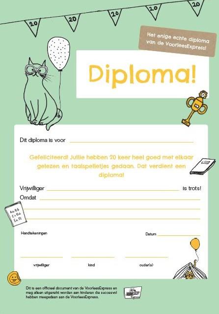 VoorleesExpress diploma
