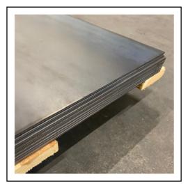 Staalplaat S235JR | 150x150x2mm