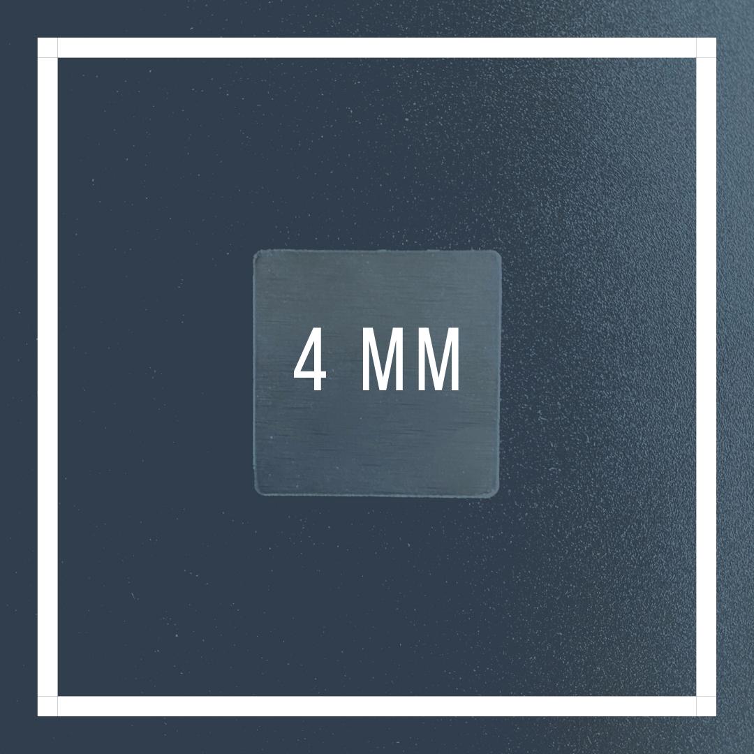 Kokerplaatje 4mm