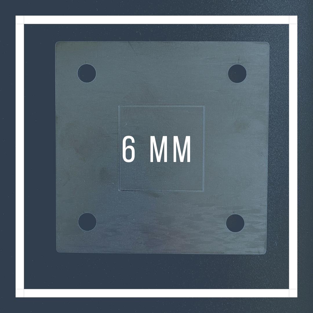 Voetplaat 6mm