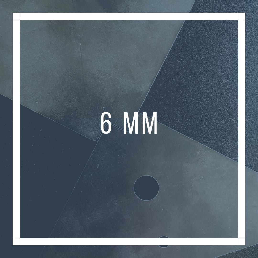 Schoorplaat 6mm