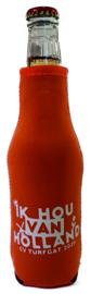 Bedrukte bierfles koelhoud hoesjes - 10 stuks