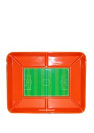 Snacks schaal - Voetbal veld