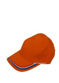 Orange Cap with Bottle opener