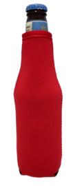 Bierfles koelhoud hoesjes incl bedrukking van 1 kleur - 6 stuks
