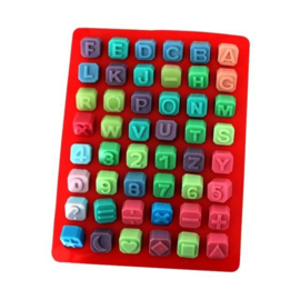Alphabet and Numbers mold