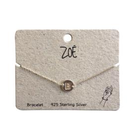 ZOË Armband Letter B