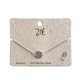 ZOË Armband Letter E