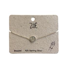 ZOË Armband Letter U