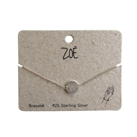 ZOË Armband Letter W