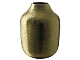 Gusta gouden vaas 13 x 17,5 cm