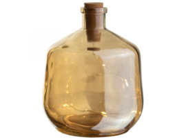 Gusta decoratie fles met LED