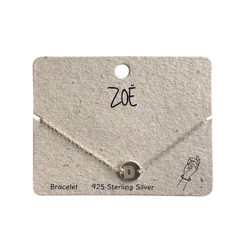 ZOË Armband Letter D