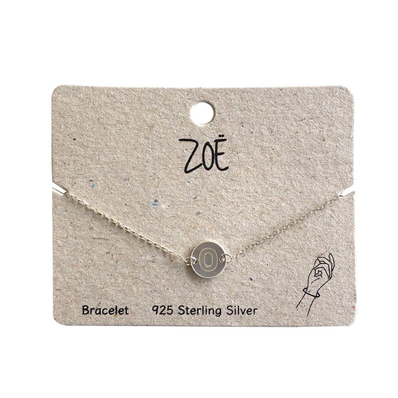 ZOË Armband Letter O