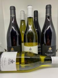 Maso Grener actie wijnpakket (6 flessen): Bianco (3x) + Vignabindesi Pinot Nero (3x)
