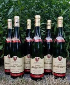 Achille Thirion wijnpakket (6 flessen): Pinot Blanc (2x), Pinot Gris (2x), Gewurztraminer (2x)