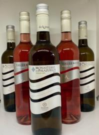 De Alberto Wijnpakket (6 flessen): Finca Valdemoya (rosé) (3x) + Monasterio de Palazuelos Verdejo (3x)