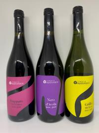Tenuta Bastonaca wijnpakket (3 flessen): Grillo (1x), Nero d'Avola (1x), Frappato (1x)