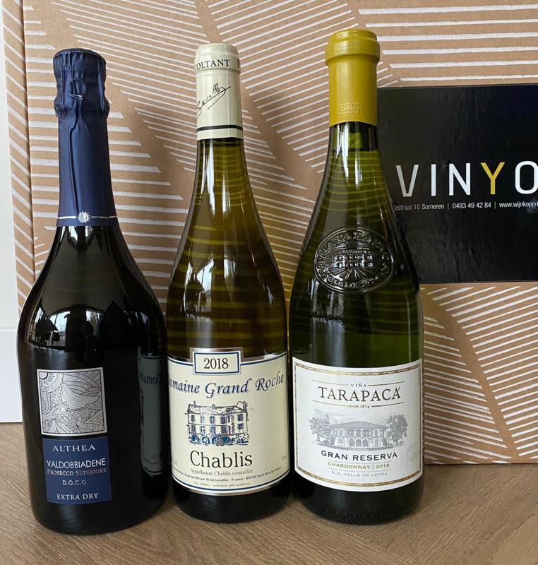 Ondernemerslounge Seizoen 2 - Selectie van 6 heerlijke wijnen