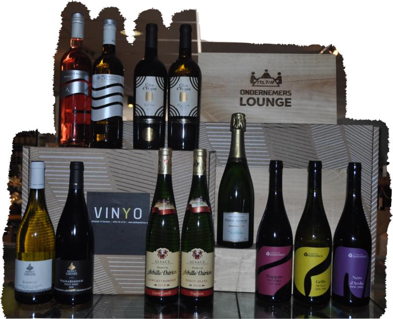 Ondernemerslounge Seizoen 1 - alle wijnen