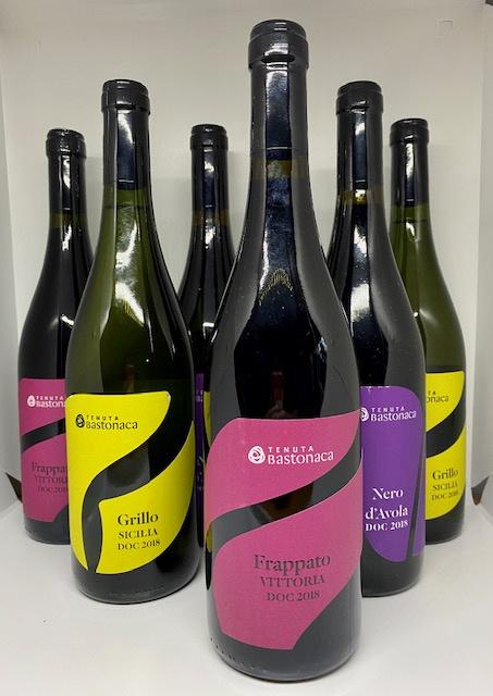 Tenuta Bastonaca wijnpakket (6 flessen): Grillo (2x), Nero d'Avola (2x), Frappato (2x)