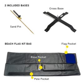 Windsurfer Beach Flag Kit