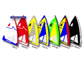 Windsurfer LT Race Sail 5.7