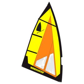 Windsurfer LT Bumblebee Race Sail 5.7