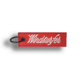 Windsurfer Keyring Tag (Red)