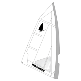 Windsurfer LT Angel Race Sail 5.7