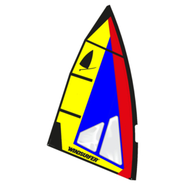 Windsurfer LT Sunshine Race Sail 5.7