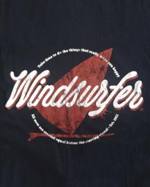 Windsurfer T-Shirt Grunge (Deep Blue)