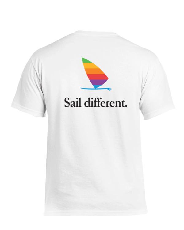 Windsurfer T-Shirt Sail Different (White)
