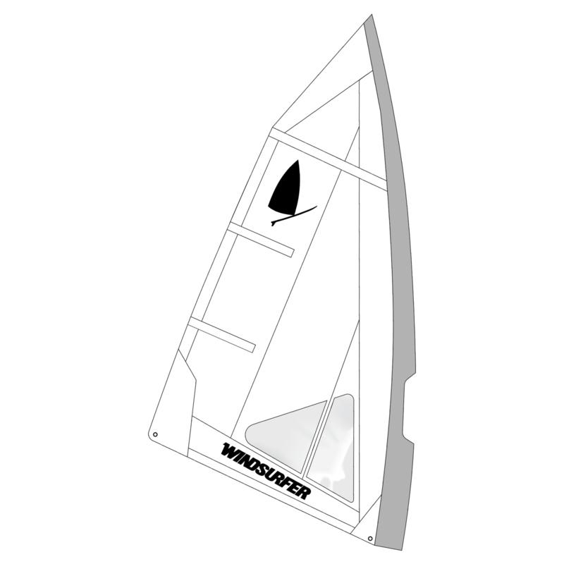 Windsurfer LT Angel Race Sail 5.7