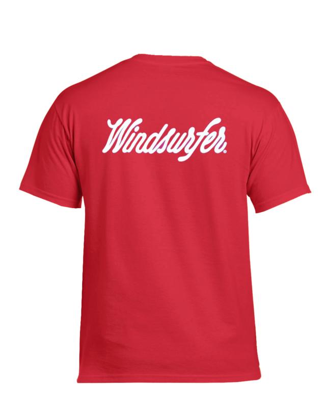 Windsurfer T-Shirt Original (Beach Red)