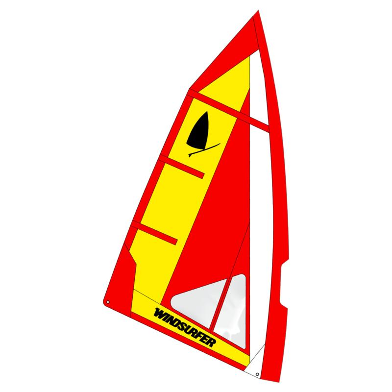 Windsurfer LT Fire Race Sail 5.7