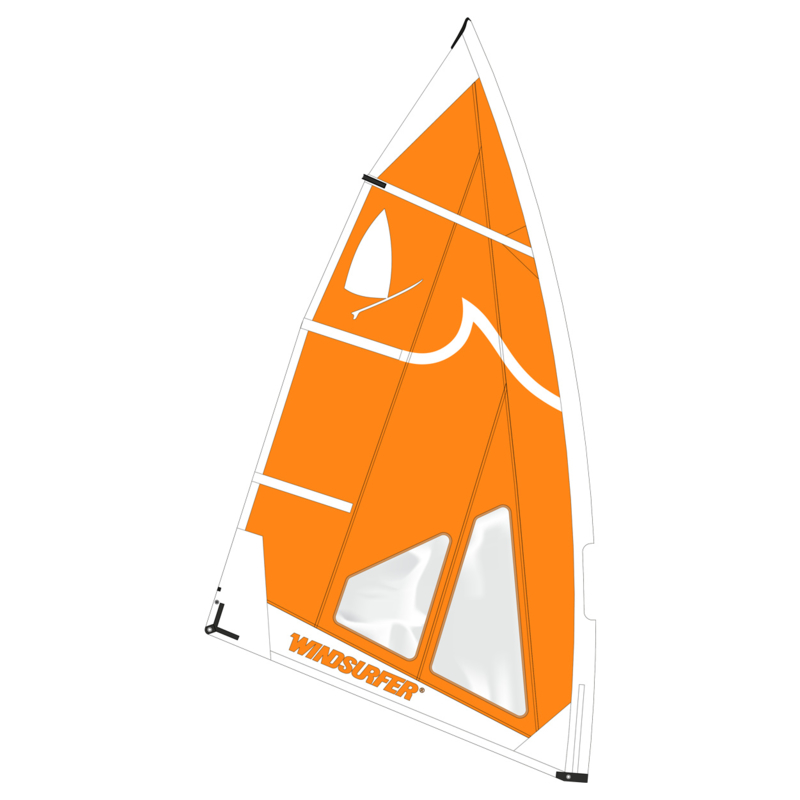 Windsurfer LT Orange Wave Race Sail 5.7 Limited Edition