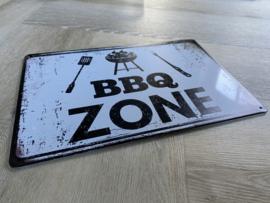 BBQ zone | 20 x 30cm | metaal