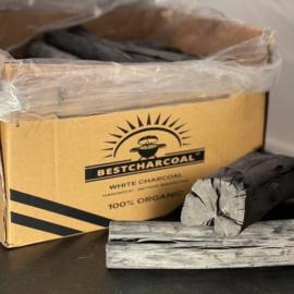 Bestcharcoal -  Binchotan (White Charcoal Hardwood)