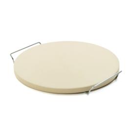 Smokin' Flavours Pizzasteen met houder 38 cm diameter, 2cm