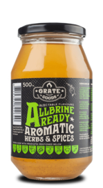 Grate Goods - AllBrine Ready Aromatic Herbs & Spices - incl. injector