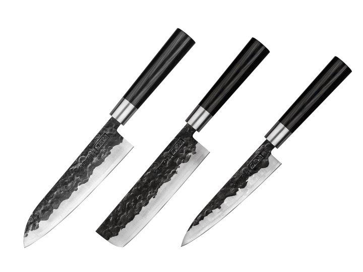 Samura - BLACKSMITH Messenset 3-Delig