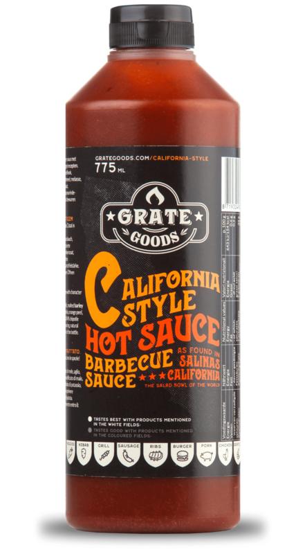 Grate Goods California Hot Barbecue Sauce (775ml)