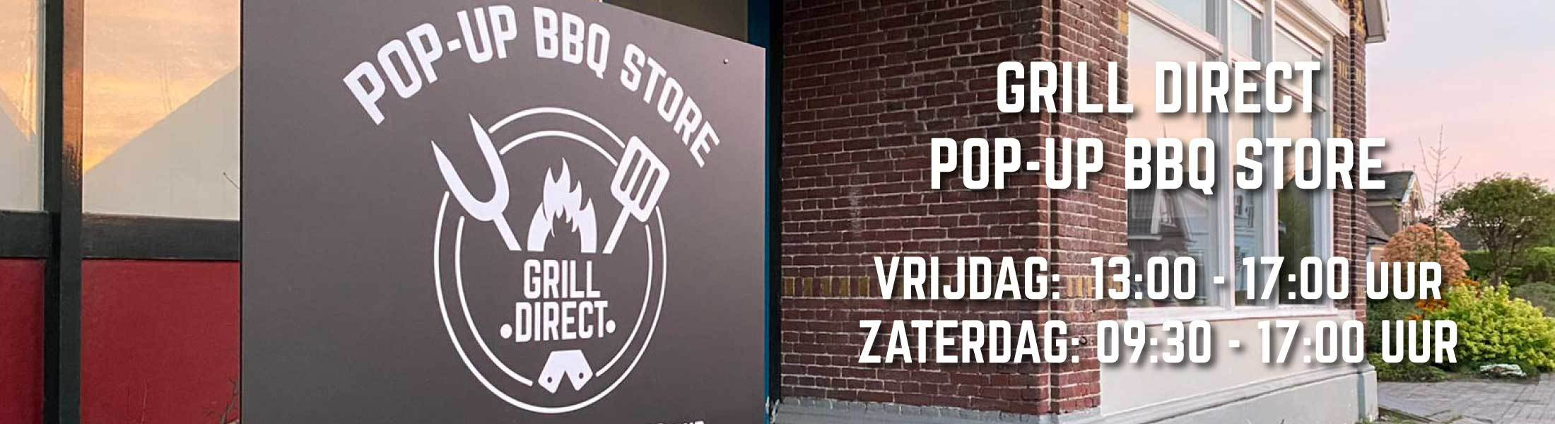 Pop-up bbq store