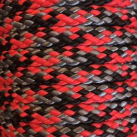 Rood/zilver/zwart